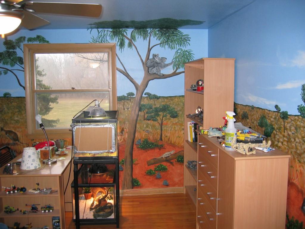 Australian outback mural by artist todd fendos todd for Australian mural