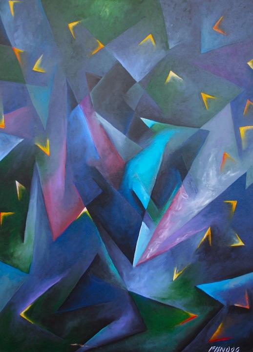 Fendos Coltrane painting